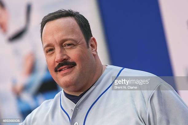 Actor/writer/producer Kevin James arrives for the 'Paul Blart Mall Cop 2' New York Premiere at AMC Loews Lincoln Square on April 11 2015 in New York...