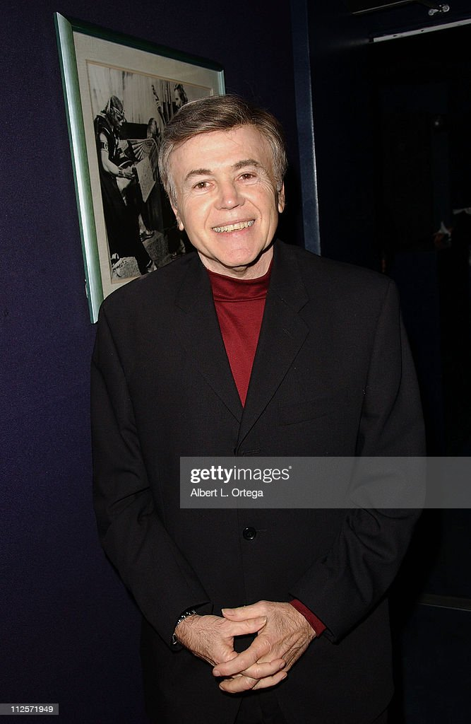 Actor/writer/producer Walter Koenig arrives for the Screening of Walter Koenig's and Renegade Studios' 'InAlienable' held at the Sherry Lansing Theater at Paramount Studios on November 8, 2007 in Los Angeles, California.