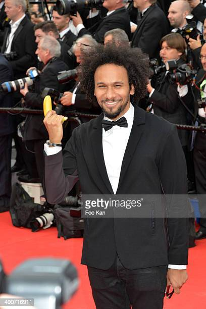 Actor/young director Yassine Azzouz attends the opening ceremony and 'Grace of Monaco' premiere at the 67th Annual Cannes Film Festival at Palais des...