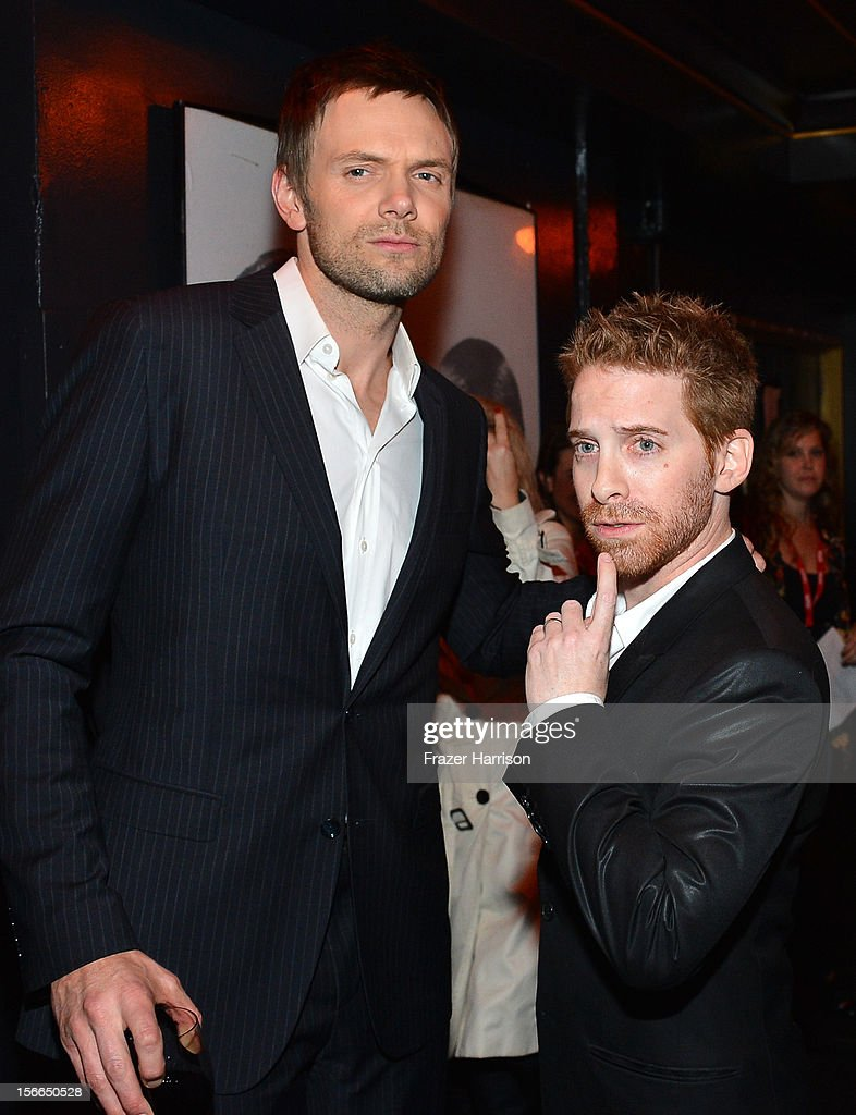 Actosr Joel McHale and Seth Green attend Variety's 3rd annual Power of Comedy event presented by Bing benefiting the Noreen Fraser Foundation held at Avalon on November 17, 2012 in Hollywood, California.