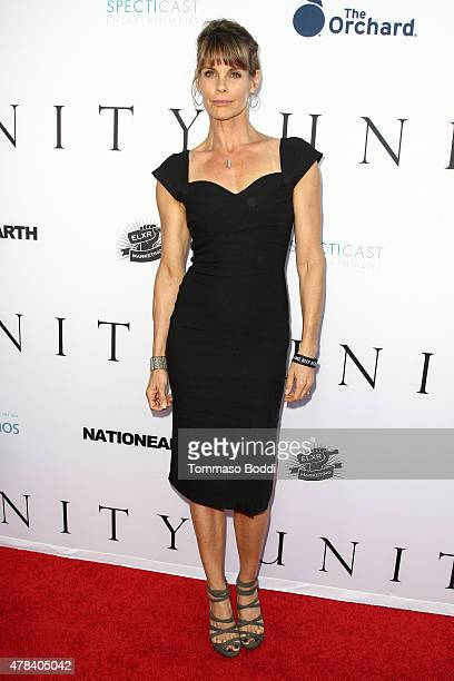 Actrass Alexandra Paul attends the world premiere screening of documentary 'Unity' held at the DGA Theater on June 24 2015 in Los Angeles California