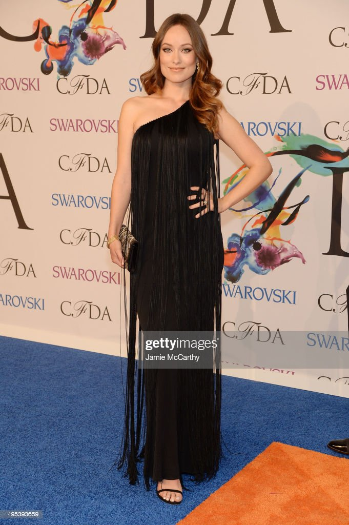 Actreess <a gi-track='captionPersonalityLinkClicked' href=/galleries/search?phrase=Olivia+Wilde&family=editorial&specificpeople=235399 ng-click='$event.stopPropagation()'>Olivia Wilde</a> attends the 2014 CFDA fashion awards at Alice Tully Hall, Lincoln Center on June 2, 2014 in New York City.