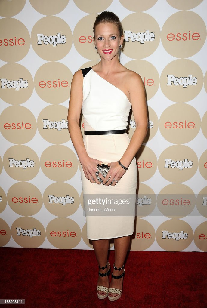 Actress A. J. Cook attends People's 'Ones To Watch' party at Hinoki & the Bird on October 9, 2013 in Los Angeles, California.