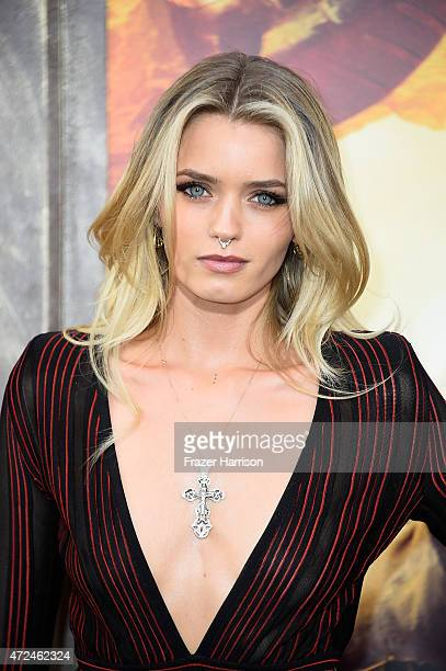 Actress Abbey Lee arrives at the Premiere Of Warner Bros Pictures' 'Mad Max Fury Road' at TCL Chinese Theatre on May 7 2015 in Hollywood California