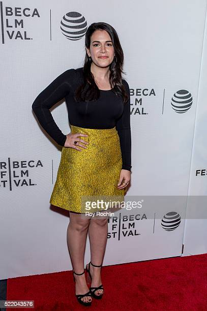 Actress Abbi Jacobson attends 'Broad City' Screening during the 2016 Tribeca Film Festival at Festival Hub on April 17 2016 in New York City