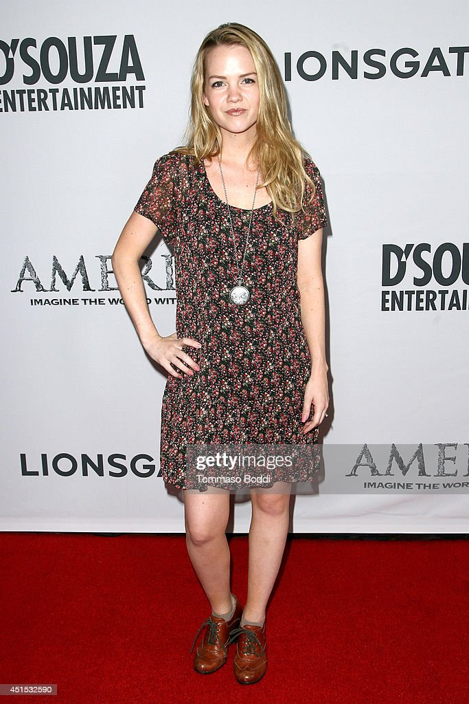 Actress Abbie Cobb attends the 'America' Los Angeles premiere held at the Regal Cinemas L.A. Live on June 30, 2014 in Los Angeles, California.