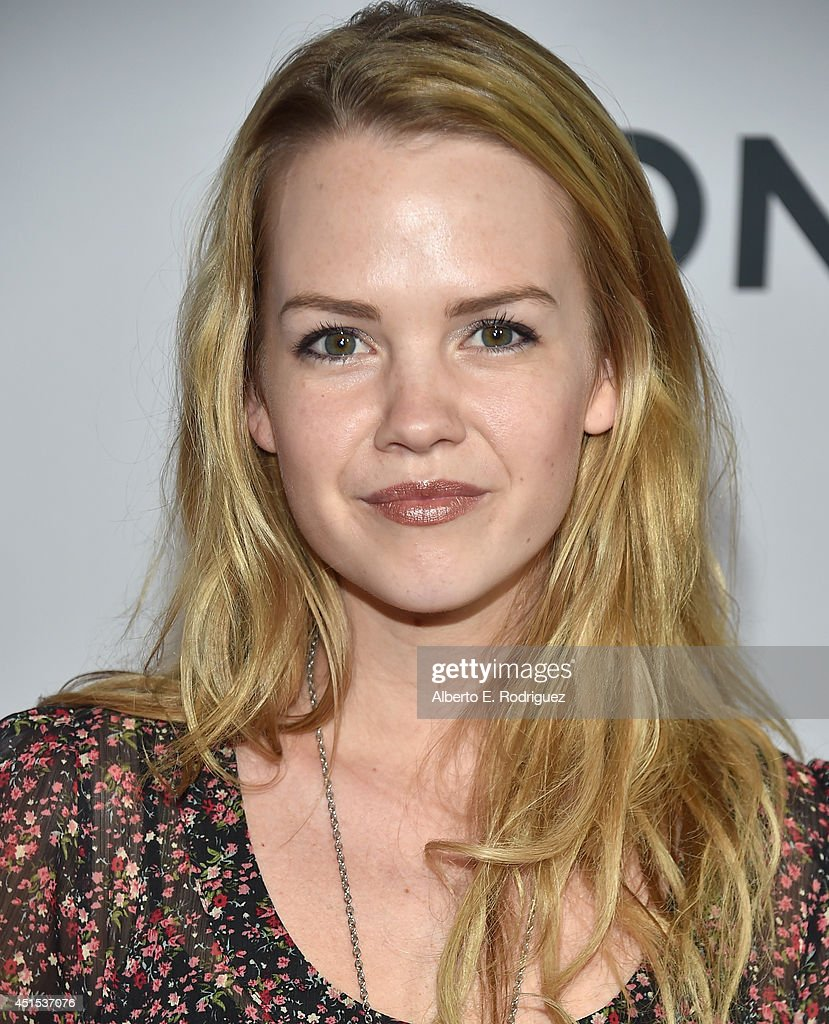 Actress <a gi-track='captionPersonalityLinkClicked' href=/galleries/search?phrase=Abbie+Cobb&family=editorial&specificpeople=8913793 ng-click='$event.stopPropagation()'>Abbie Cobb</a> attends the premiere of Lionsgate Films' 'America' at Regal Cinemas L.A. Live on June 30, 2014 in Los Angeles, California.