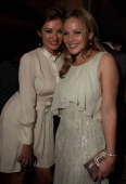 Actress Abbie Cornish and party guest attend the 'Weinstein Party Including Butter Cast' hosted by GREY GOOSE Vodka at Soho House Pop Up Club during...