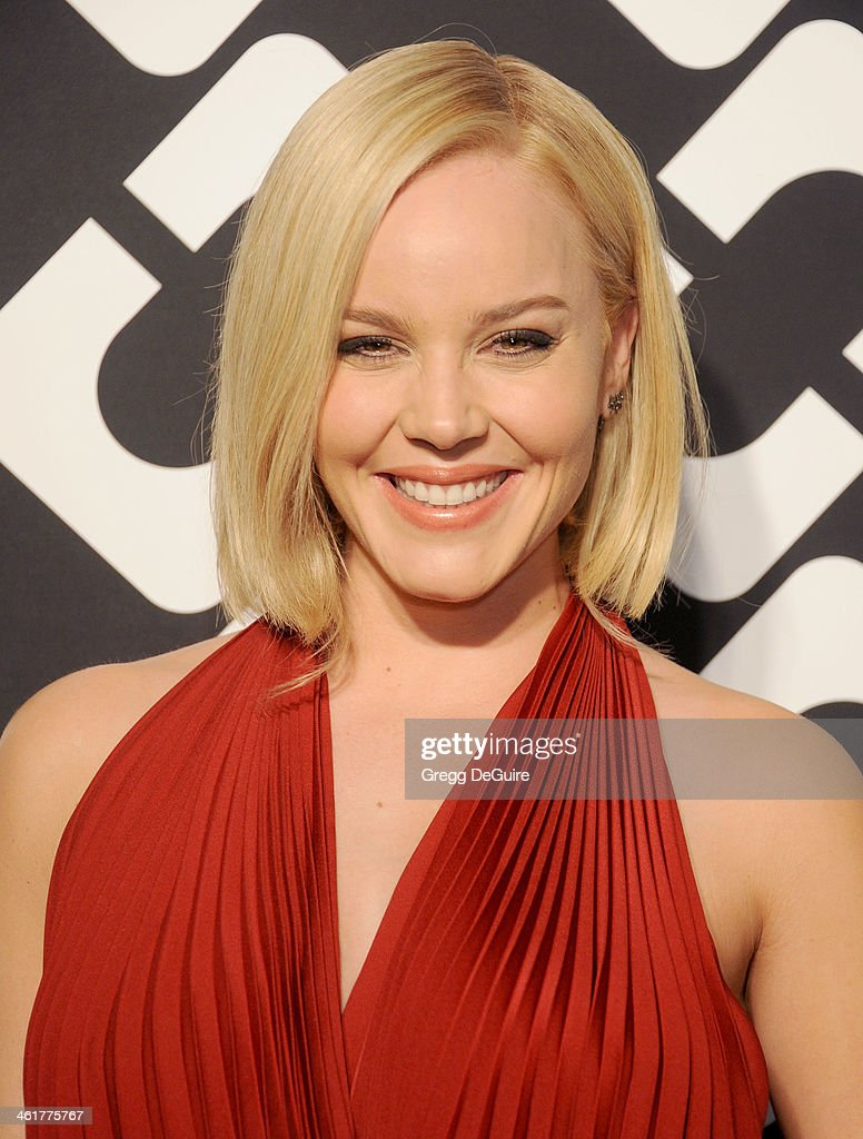 Actress <a gi-track='captionPersonalityLinkClicked' href=/galleries/search?phrase=Abbie+Cornish&family=editorial&specificpeople=213603 ng-click='$event.stopPropagation()'>Abbie Cornish</a> arrives at Diane Von Furstenberg's 'Journey Of A Dress' premiere opening party at Wilshire May Company Building on January 10, 2014 in Los Angeles, California.