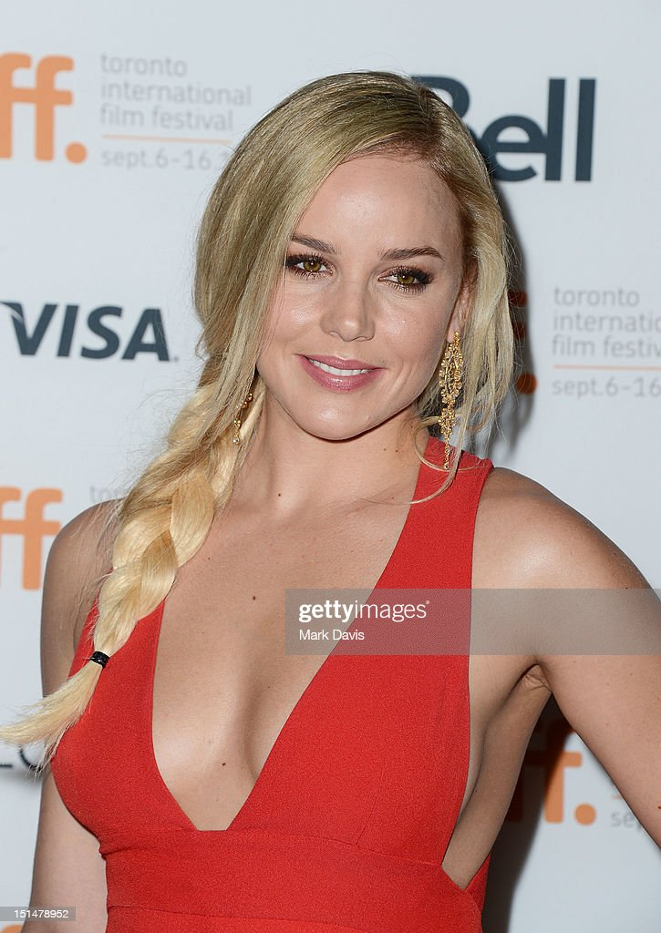 Actress Abbie Cornish attends 'Seven Psychopaths' premiere during the 2012 Toronto International Film Festival at Ryerson Theatre on September 7, 2012 in Toronto, Canada.