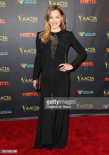 Actress Abbie Cornish attends the AACTA International Awards at Avalon Hollywood on January 29 2016 in Los Angeles California