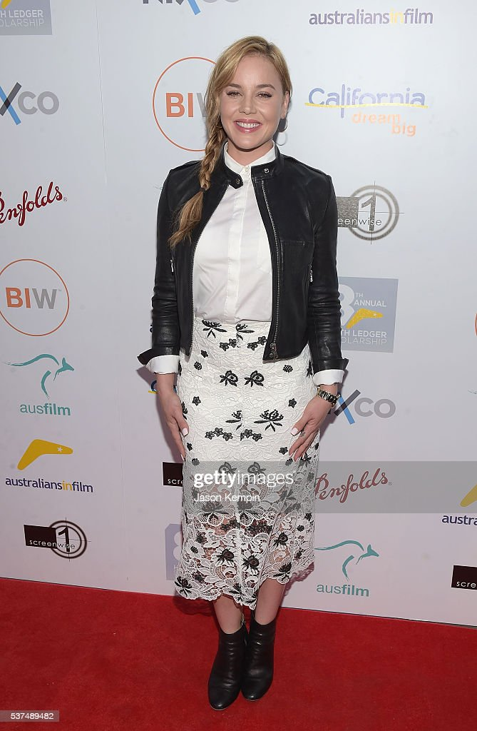 Actress Abbie Cornish attends the Australians In Film Heath Ledger Scholarship Dinner at Mr C Beverly Hills on June 1 2016 in Beverly Hills California