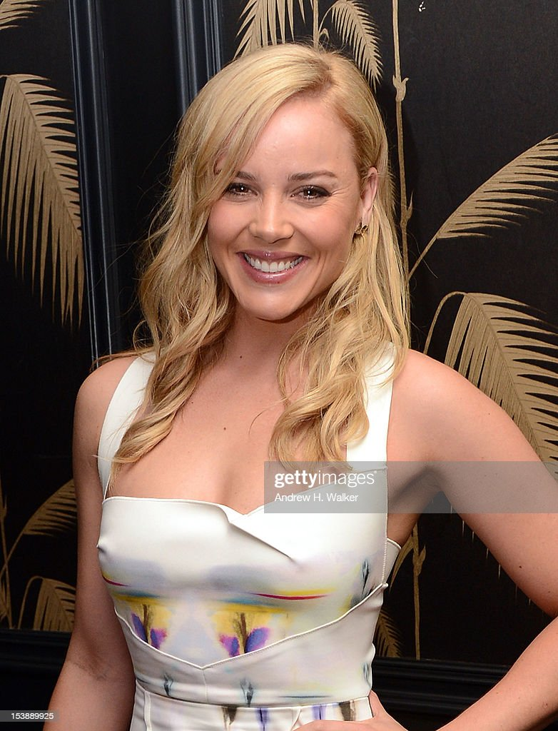 Actress Abbie Cornish attends The Cinema Society and CBS Films screening of 'Seven Psychopaths' After Party at No. 8 on October 10, 2012 in New York City.