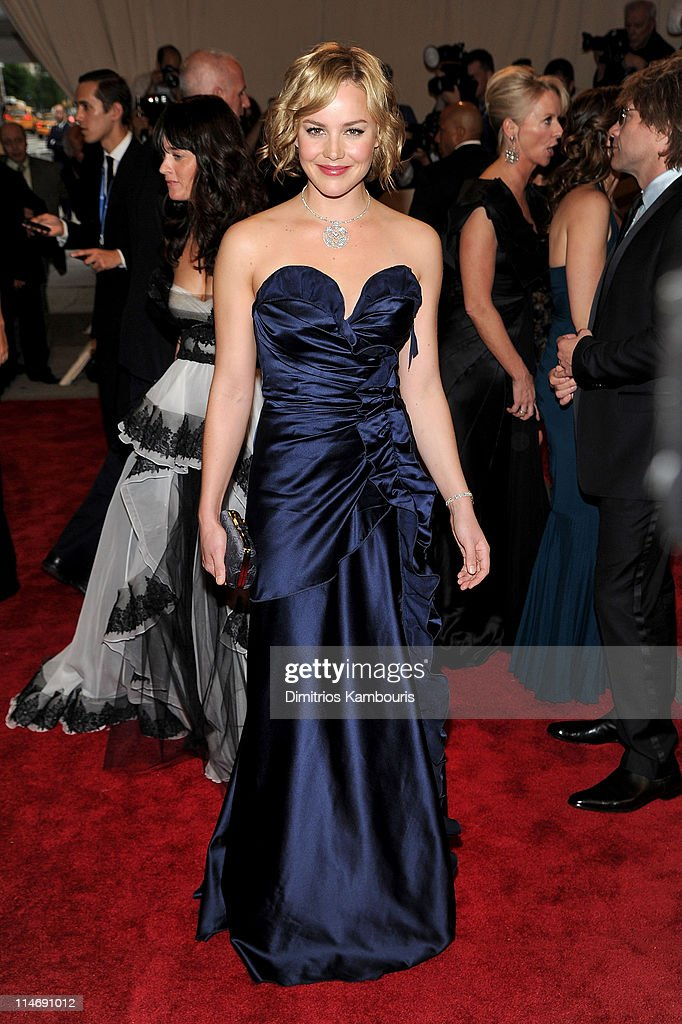 Actress Abbie Cornish attends the Costume Institute Gala Benefit to celebrate the opening of the 'American Woman: Fashioning a National Identity' exhibition at The Metropolitan Museum of Art on May 3, 2010 in New York City.