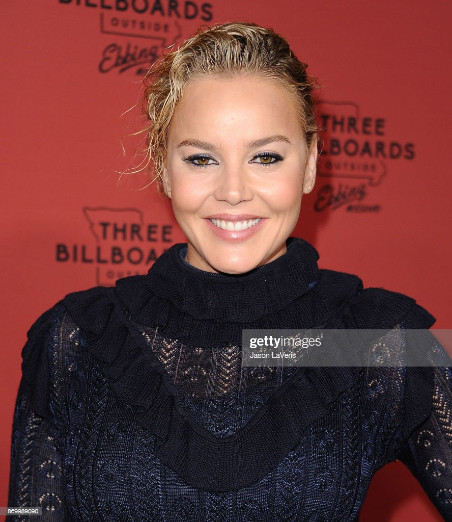 Actress Abbie Cornish attends the premiere of 'Three Billboards Outside Ebbing, Missouri' at NeueHouse Hollywood on November 3, 2017 in Los Angeles, California.