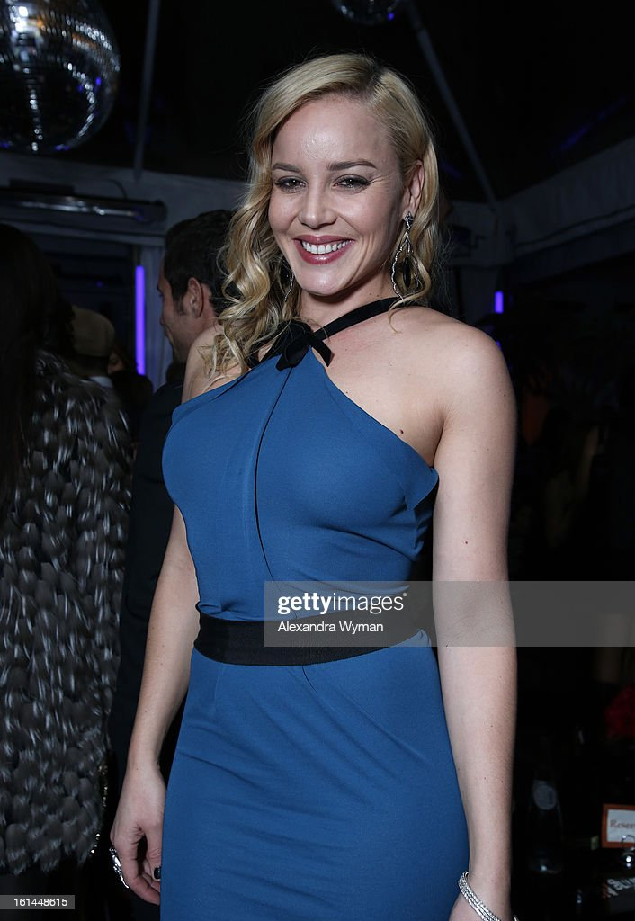 Actress <a gi-track='captionPersonalityLinkClicked' href=/galleries/search?phrase=Abbie+Cornish&family=editorial&specificpeople=213603 ng-click='$event.stopPropagation()'>Abbie Cornish</a> attends the Warner Music Group 2013 Grammy Celebration Presented By Mini at Chateau Marmont on February 10, 2013 in Los Angeles, California.
