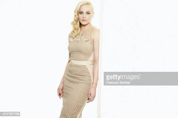 Actress Abbie Cornish is photographed for Self Assignment on February 3 2014 in Paris France
