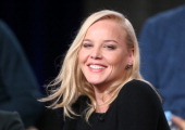 Actress Abbie Cornish speaks onstage during the 'Discovery Channel Klondike' panel discussion at the Discovery Communications portion of the 2014...