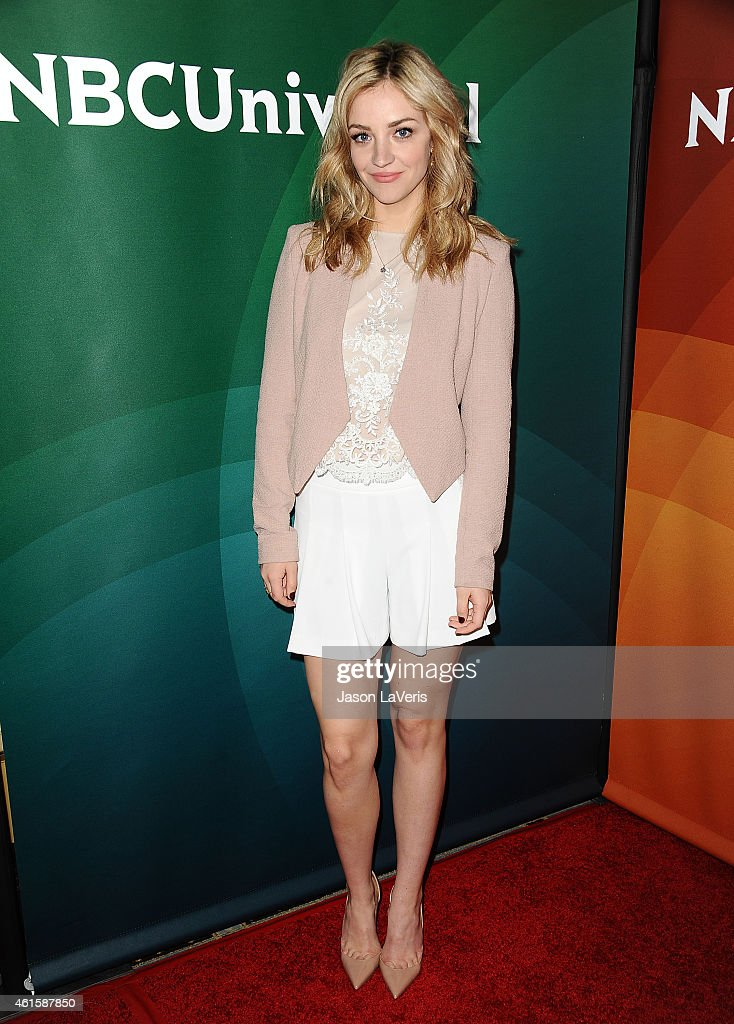 Actress Abby Elliott attends the NBCUniversal 2015 press tour at The Langham Huntington Hotel and Spa on January 15 2015 in Pasadena California