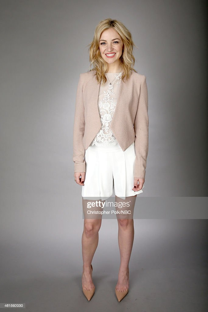 Actress Abby Elliott of Odd Mom Out poses for a portrait during the NBCUniversal TCA Press Tour at The Langham Huntington Pasadena on January 15 2015...