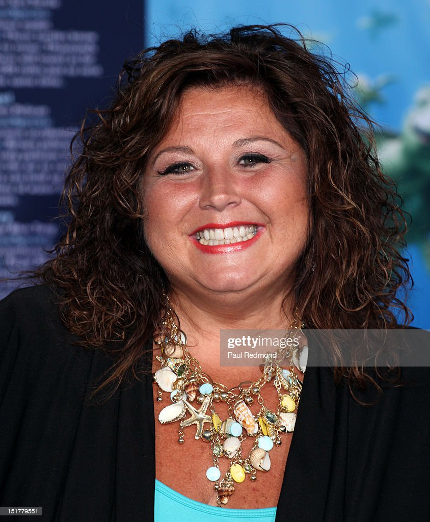 Actress Abby Lee Miller arrives at 'Finding Nemo' Disney Digital 3D - Los Angeles Premiere at the El Capitan Theatre on September 10, 2012 in Hollywood, California.
