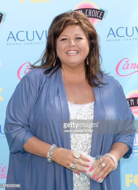 Actress Abby Lee Miller attends the Teen Choice Awards 2013 at Gibson Amphitheatre on August 11 2013 in Universal City California