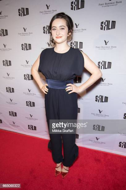 Actress Abby Quinn arrives at the opening night screening of 'Landslide' at 60th San Francisco International Film Festival in Castro Theater on April...