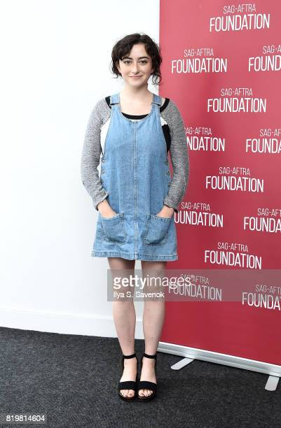 Actress Abby Quinn poses during SAGAFTRA Foundation Conversations 'Landline' at SAGAFTRA Foundation Robin Williams Center on July 20 2017 in New York...