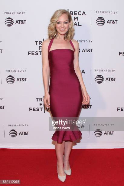Actress Abby Wathen attends Tribeca TV Pilot Season 'Lost and Found' showing during the 2017 Tribeca Film Festival at Cinepolis Chelsea on April 23...