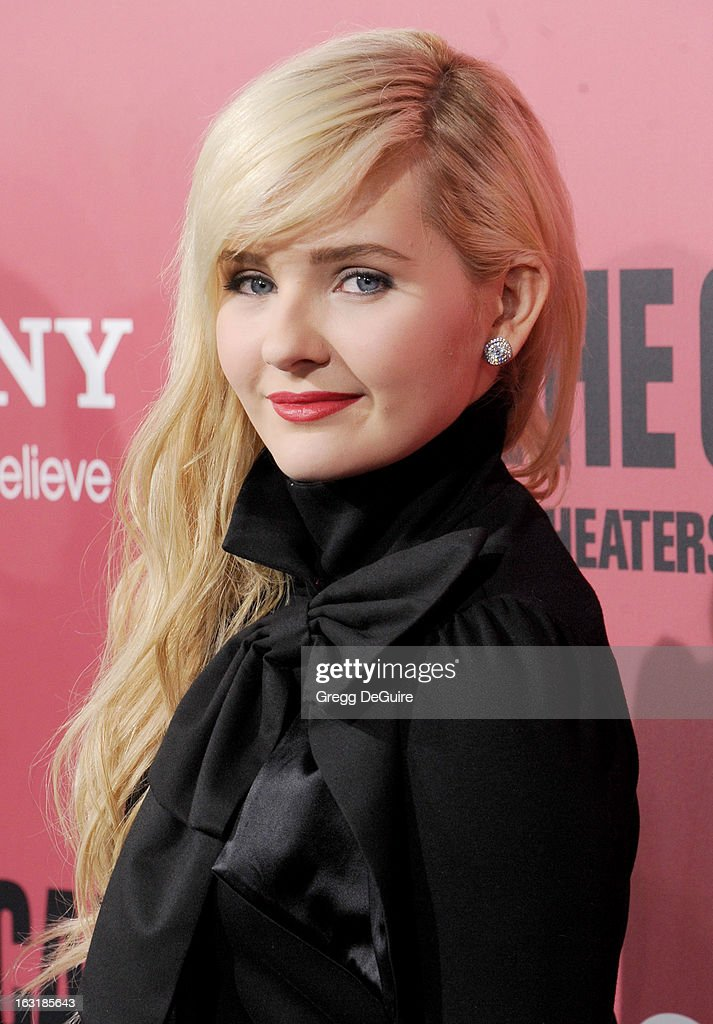 Actress Abigail Breslin arrives at the Los Angeles premiere of 'The Call' at ArcLight Hollywood on March 5, 2013 in Hollywood, California.