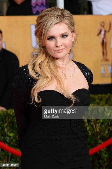 Actress Abigail Breslin attends 20th Annual Screen Actors Guild Awards at The Shrine Auditorium on January 18 2014 in Los Angeles California