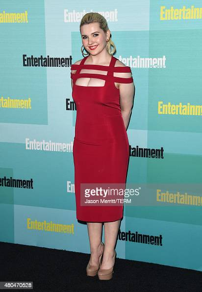 Actress Abigail Breslin attends Entertainment Weekly's ComicCon 2015 Party sponsored by HBO Honda Bud Light Lime and Bud Light Ritas at FLOAT at The...