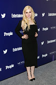 Actress Abigail Breslin attends New York UpFronts Party Hosted By People and Entertainment Weekly at The Highline Hotel on May 11 2015 in New York...