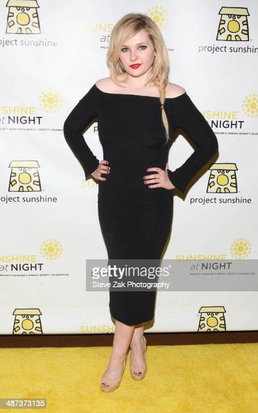Actress Abigail Breslin attends the 11th Annual Project Sunshine Benefit Celebration at The Waldorf Astoria on April 29 2014 in New York City