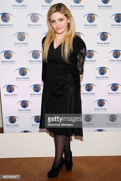 Actress Abigail Breslin attends the 2014 Spirit Of Helen Keller gala at 583 Park Avenue on May 20 2014 in New York City