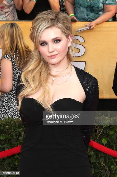 Actress Abigail Breslin attends the 20th Annual Screen Actors Guild Awards at The Shrine Auditorium on January 18 2014 in Los Angeles California