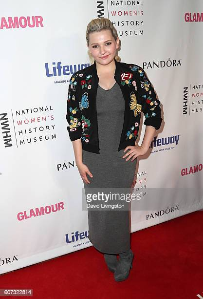 Actress Abigail Breslin attends the 5th Annual Women Making History Brunch at Montage Beverly Hills on September 17 2016 in Beverly Hills California