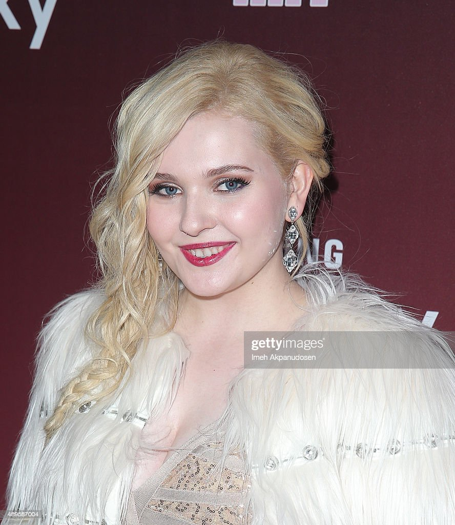 Actress Abigail Breslin attends the premiere of FOX TV's 'Scream Queens' at The Wilshire Ebell Theatre on September 21, 2015 in Los Angeles, California.