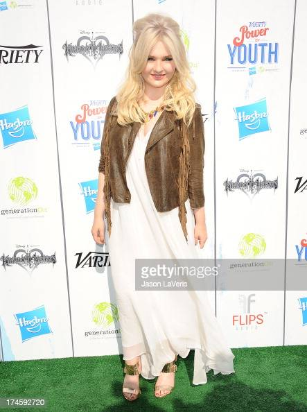 Actress Abigail Breslin attends Variety's 7th annual Power of Youth event at Universal Studios Hollywood on July 27 2013 in Universal City California