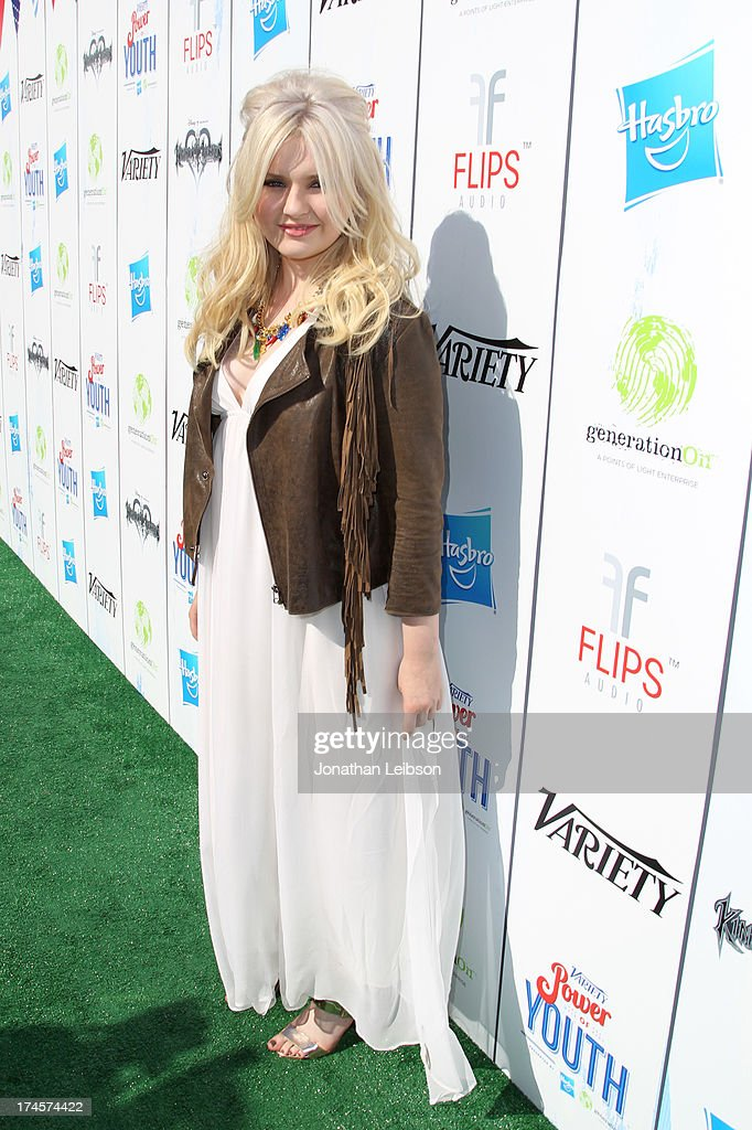 Actress Abigail Breslin attends Variety's Power of Youth presented by Hasbro, Inc. and generationOn at Universal Studios Backlot on July 27, 2013 in Universal City, California.