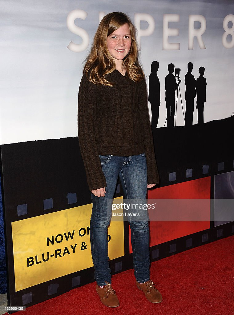 Actress Abigail Hargrove attends the 'Super 8' blu-ray and DVD release party at AMPAS Samuel Goldwyn Theater on November 22, 2011 in Beverly Hills, California.