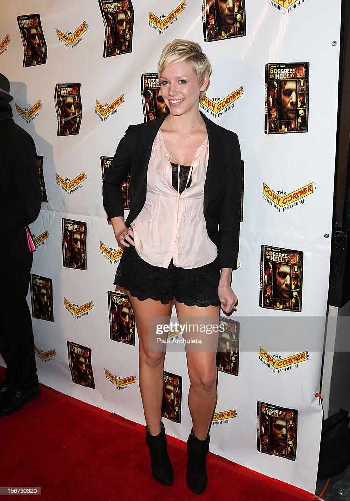 Actress Abigail Richie attends the Premiere of '6 Degrees Of Hell' at Laemmle's Music Hall 3 on November 20, 2012 in Beverly Hills, California.