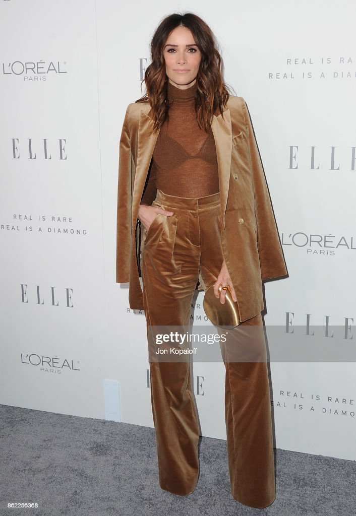 Actress Abigail Spencer arrives at ELLE's 24th Annual Women in Hollywood Celebration at Four Seasons Hotel Los Angeles at Beverly Hills on October 16, 2017 in Los Angeles, California.