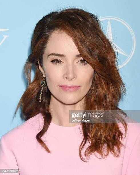 Actress Abigail Spencer arrives at the Variety And Women In Film's 2017 PreEmmy Celebration at Gracias Madre on September 15 2017 in West Hollywood...