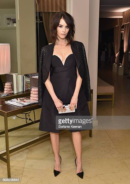 Actress Abigail Spencer attends ELLE's 6th Annual Women in Television Dinner Presented by Hearts on Fire Diamonds and Olay at Sunset Tower on January...