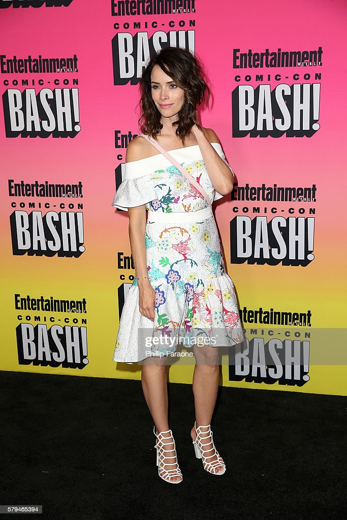 Actress Abigail Spencer attends Entertainment Weekly's Annual ComicCon Party 2016 at Float at Hard Rock Hotel San Diego on July 23 2016 in San Diego...