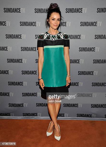 Actress Abigail Spencer attends SundanceTV's presentation of panel discussions featuring creators and stars of 'Rectify' and 'The Honorable Woman' on...