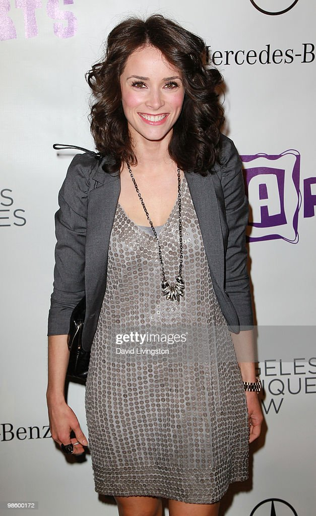 Actress <a gi-track='captionPersonalityLinkClicked' href=/galleries/search?phrase=Abigail+Spencer&family=editorial&specificpeople=748117 ng-click='$event.stopPropagation()'>Abigail Spencer</a> attends the 15th Annual Los Angeles Antique Show Opening Night Preview Party benefiting P.S. ARTS at Barker Hanger on April 21, 2010 in Santa Monica, California.