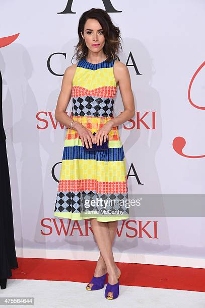 Actress Abigail Spencer attends the 2015 CFDA Fashion Awards at Alice Tully Hall at Lincoln Center on June 1 2015 in New York City