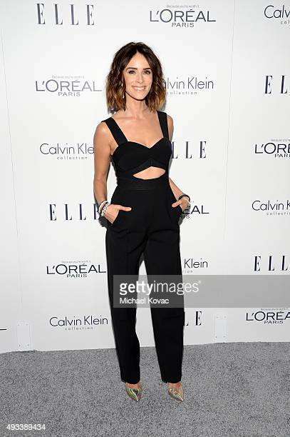 Actress Abigail Spencer attends the 22nd Annual ELLE Women in Hollywood Awards at Four Seasons Hotel Los Angeles at Beverly Hills on October 19 2015...